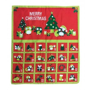 Owl Advent Calendar Easy Sew