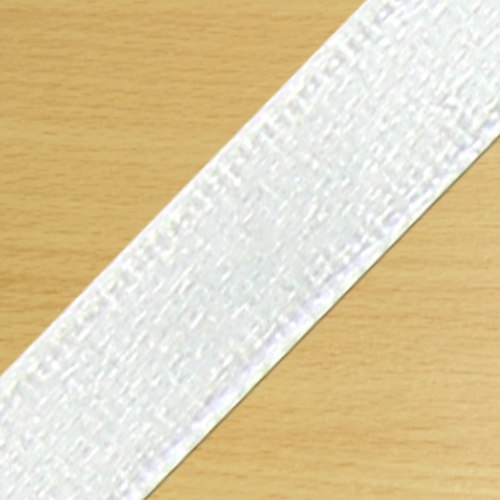 15mm Satin Ribbon White