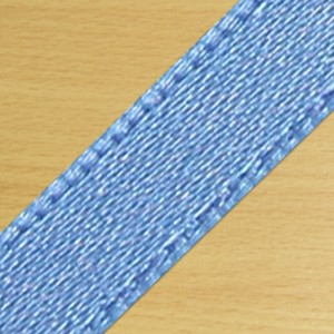 15mm Satin Ribbon Antique Blue