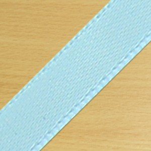 15mm Satin Ribbon Pale Blue
