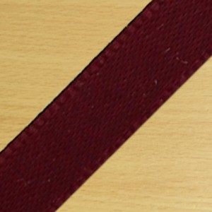 15mm Satin Ribbon Burgundy
