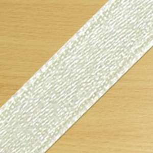 15mm Satin Ribbon Cream