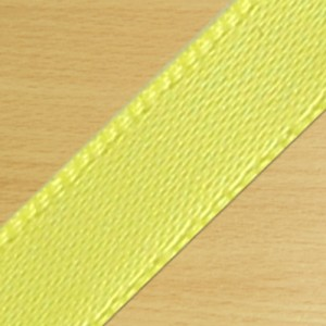 15mm Satin Ribbon Yellow