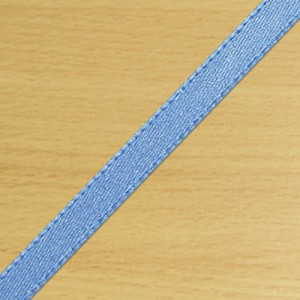 3mm Satin Ribbon Antique Blue