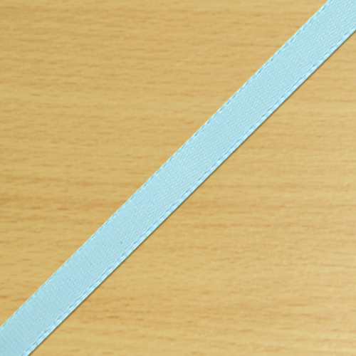 3mm Satin Ribbon Pale Blue