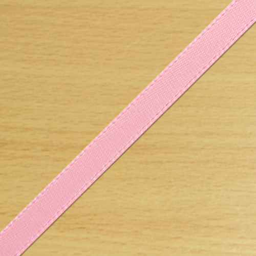 3mm Satin Ribbon Pale Pink