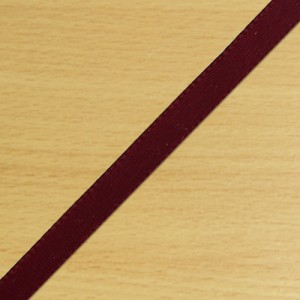 3mm Satin Ribbon Burgundy