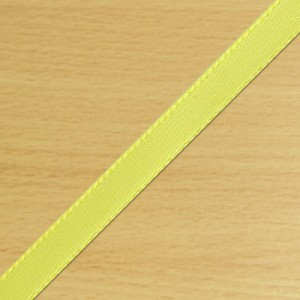 3mm Satin Ribbon Yellow