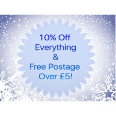 ADVENT DAY 9 - 10% off EVERYTHING