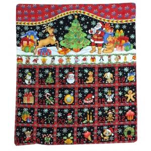 Black advent calendar easy sew