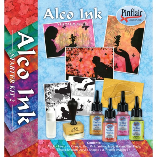 Alcohol Ink Set 2 Starter Kit
