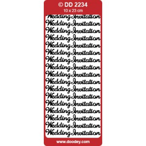 Wedding Invite Outline