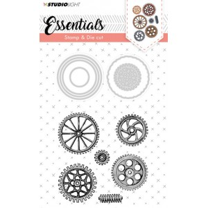 Studio Light Cogs Stamp & Die 15