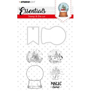 Studio Light Snow Globe Stamp & Die 18