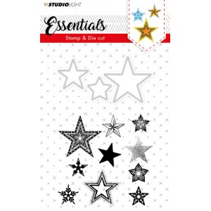Studio Light Stars Stamp & Die 20