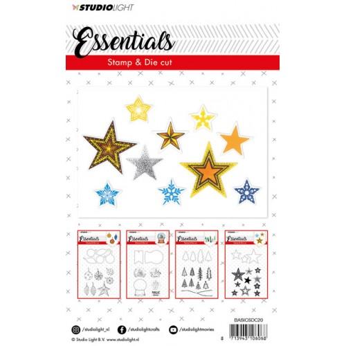 Studio Light Stars Stamp & Die 20