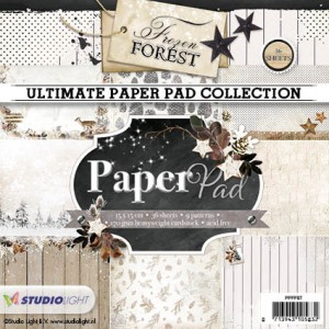 Studio Light Paper Pad - Frozen Forest