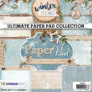 Studio Light Paper Pad - Winter Feelings