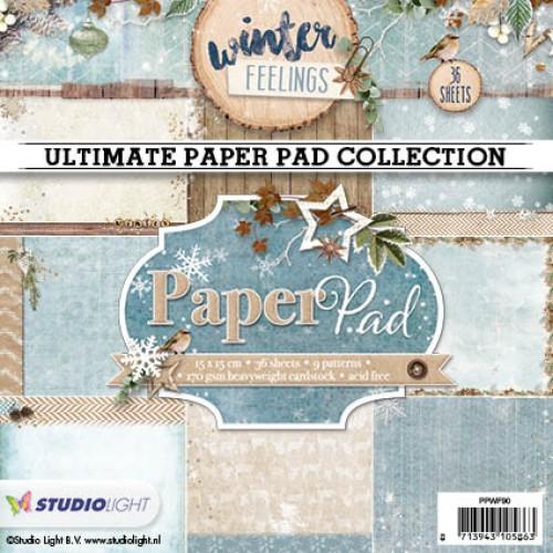 Studio Light Paper Pad - Winter Feelings