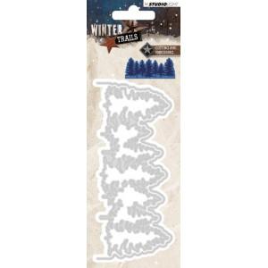 Studio Light Winter Trails Trees 106
