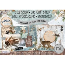 Studio Light A5 Cardmaking Book - Winter Feelings
