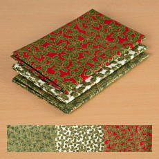 Holly Sprigs Christmas Half Meter Bundle
