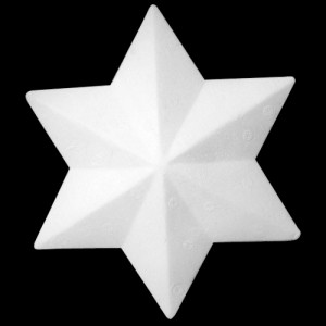 190mm 6 Point Star