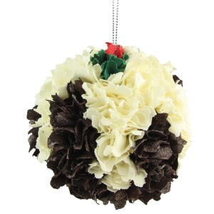 Ragged Christmas Puddings Set of 3