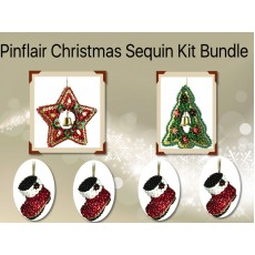 ADVENT DAY 4 - Pinflair Sequin Kit Bundle & FREE Mr Frosty