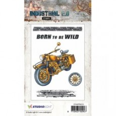 Industrial Stamps Born to be Wild STAMPIN253