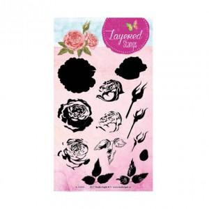 STAMPLS13 - Layered Flower Stamp