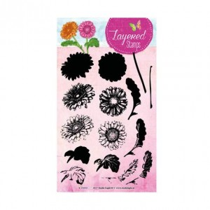 STAMPLS15 - Layered Flower Stamp