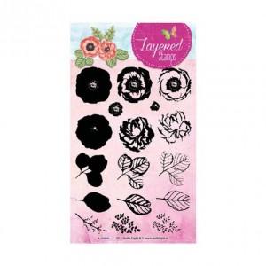 STAMPLS17 - Layered Flower Stamp