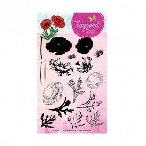 STAMPLS18 - Layered Flower Stamp