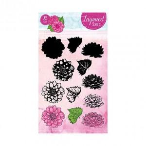 STAMPLS19 - Layered Flower Stamp