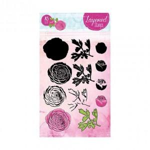 STAMPLS22 - Layered Flower Stamp