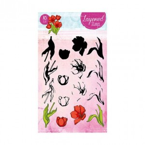 STAMPLS24 - Layered Flower Stamp