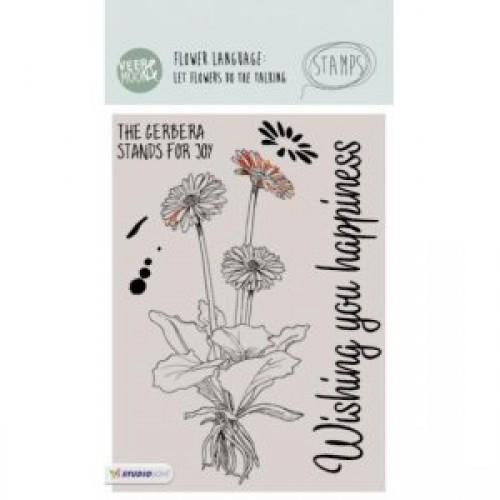 STAMPVM14 - Nasturtium Flower Stamp