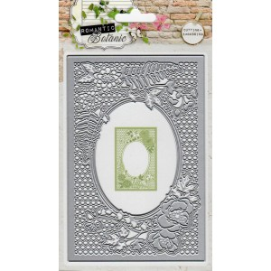 Studio Lights Latice Rectangle with Florishes STENCILRB52