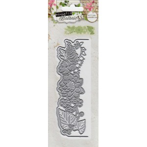 Studio Lights Floral Card top shape and Flowers STENCILRB53
