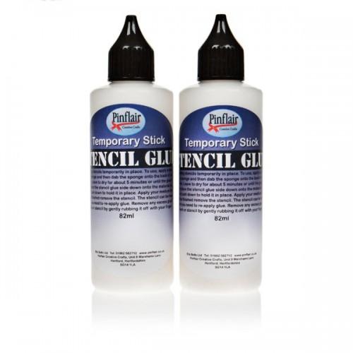 Pinflair Stencil Glue x2