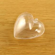 Acrylic Small Heart 60mm