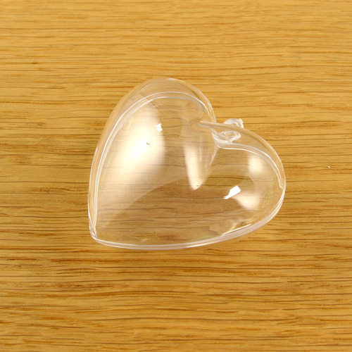Acrylic Small Heart 60mm
