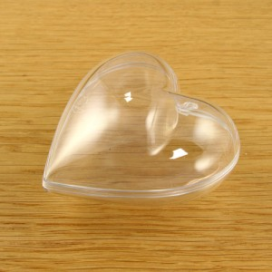 Acrylic Medium Heart 80mm