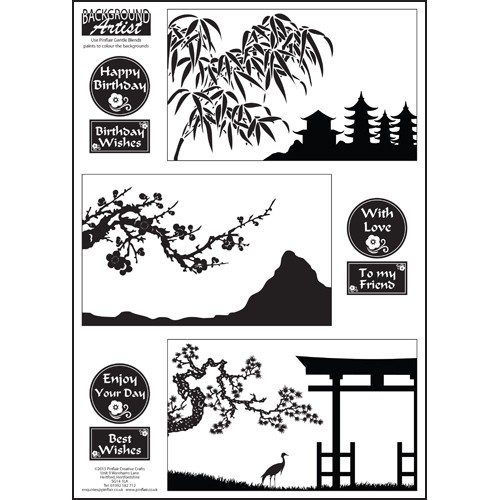 Background Artist Oriental