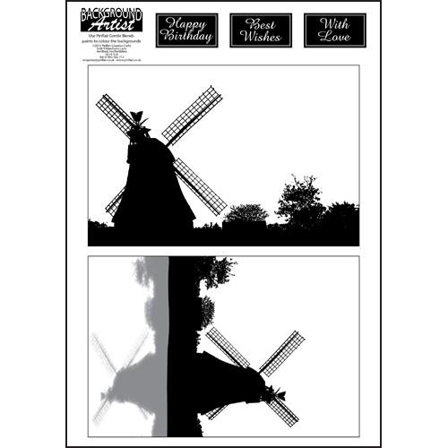 Background Artist Windmills