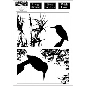 Background Artist Kingfishers
