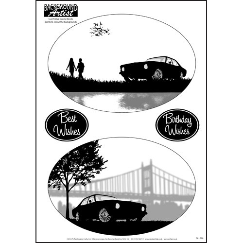 Background Artist Oval Cars