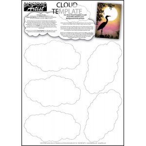 Background Artist Cloud Template
