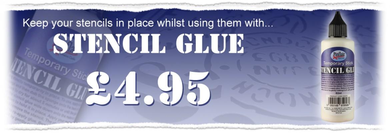 Pinflair Stencil Glue £4.95